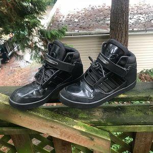Le Adidas Nero 12 Hightop Evm 004001 Taglia 12 Nero Poshmark 6d89c6